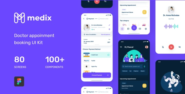 Medix UI Kit - Health & Beauty Retail