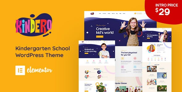 Download Kindero - Kindergarten School WordPress Theme