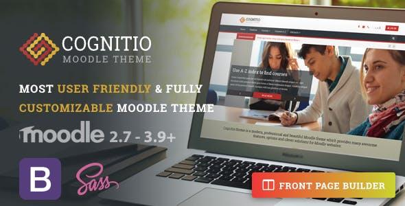 Download Cognitio   Premium Moodle Theme