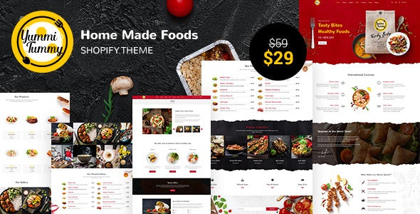 Yummi - Food Delivery Shopify Theme - Shopping Shopify