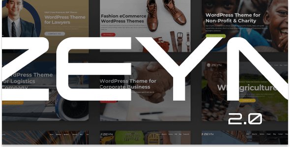 Zeyn 2.0 - Multipurpose WordPress Theme