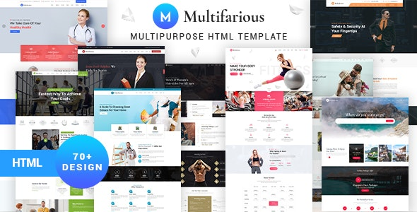 Multifarious - Multi-Concept Services Responsive HTML 5 Website Template - Site Templates