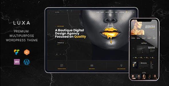Luxa - Luxury Black MultiPurpose WordPress Theme