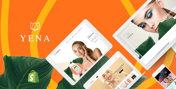 Yena – Beauty & Cosmetic Shopify Theme - Health & Beauty Shopify