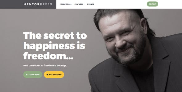 MentorPress - Life Coach & Advisor WordPress theme