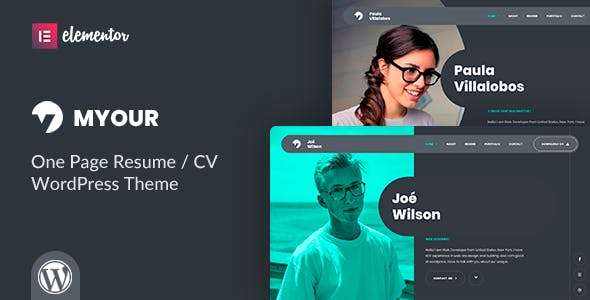 Download Myour - CV Resume Theme