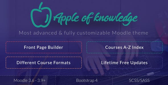 Download Apple of Knowledge | Premium Moodle Theme