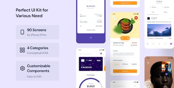 CaBu Multi-Purpose iOS UI Kit