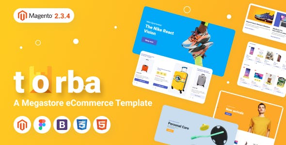 Torba Magento Theme - Wholesale Website Design for Marketplace and Retail