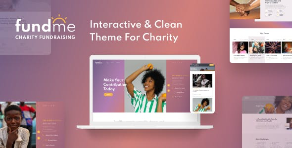 Download FundMe - Charity Organisation Website Template for Donation & Crowdfunding Projects