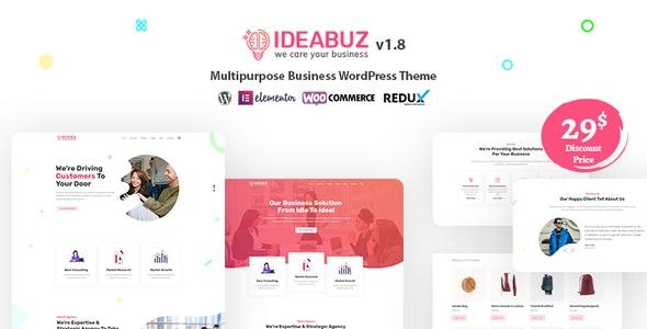Ideabuz   Multipurpose Business WordPress Theme - Business Corporate