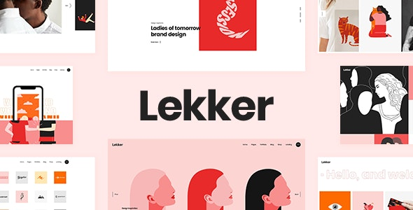Lekker - Portfolio WordPress Theme - Portfolio Creative