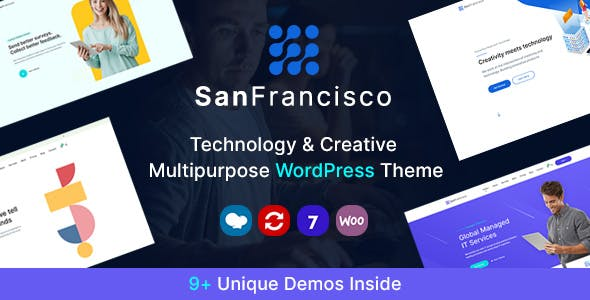 Download San Francisco - IT Technology and Creative WordPress Theme