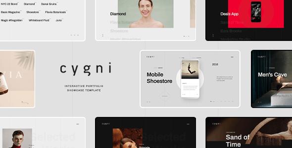Cygni - Interactive Portfolio Showcase Template - Portfolio Creative