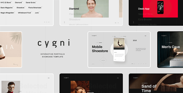 Download Cygni - Interactive Portfolio Showcase Template