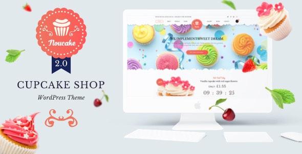 Noucake - Bakery WordPress Theme - WooCommerce eCommerce