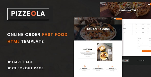 Pizzeola | Fast Food HTML Template - Food Retail