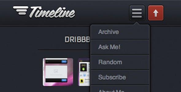Timeline - Premium Tumblr Theme