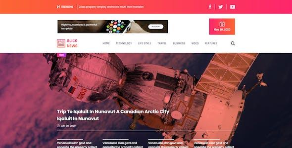 Slick - News & Magazine Blog Template