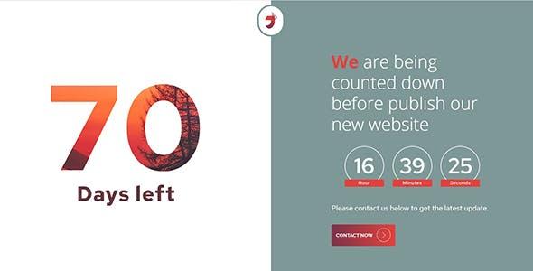 Jebog - Single Page Responsive Coming Soon