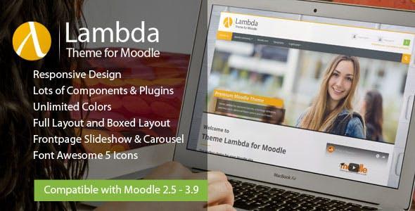 Download Lambda - Responsive Moodle Theme