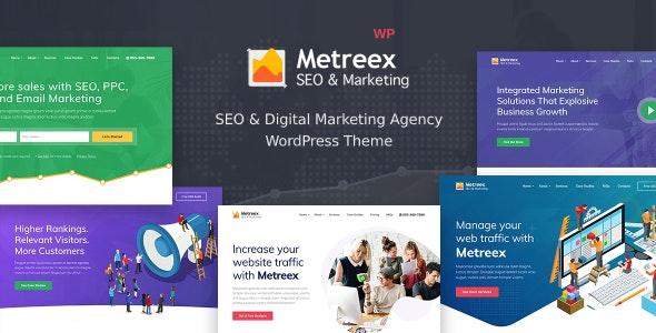 Metreex - SEO Marketing WordPress Theme - Marketing Corporate