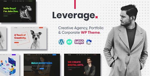 Download Leverage - Creative Agency & Portfolio WordPress Theme