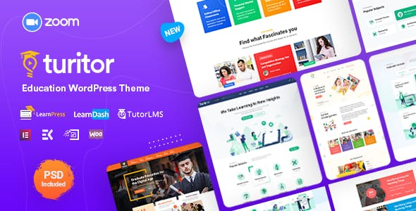 Download Turitor - LMS & Education WordPress Theme