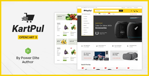 KartPul - Multipurpose OpenCart 3 Theme - Technology OpenCart