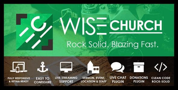 Wise Church | Multi-Purpose Online Ministry WordPress Theme - Churches Nonprofit