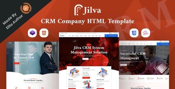 Download Jilva - CRM Solutions Company HTML Template