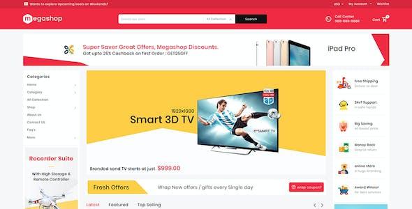 Mega Shop - Shopify Multi-Purpose Responsive Theme