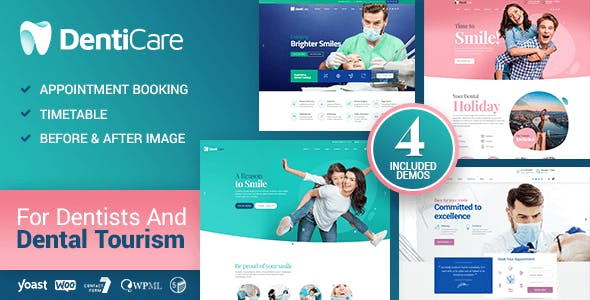 Download DentiCare - Medical, Dentist & Dental Clinic