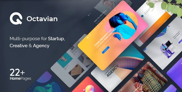 Download Octavian - Multipurpose Creative HTML5 Template