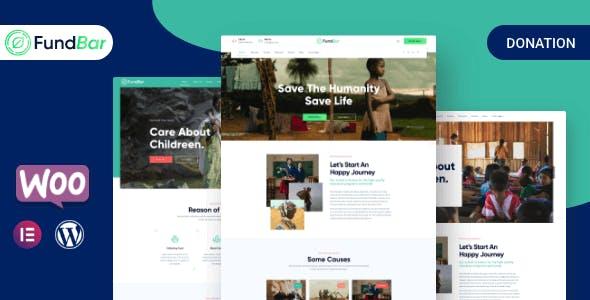 FundBar - Fundraising Charity Theme