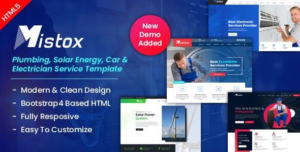 Mistox - Responsive Multi Purpose HTML5 Template