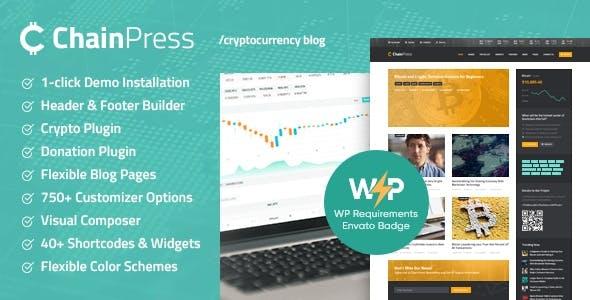 ChainPress | Financial WordPress Business Blog Theme