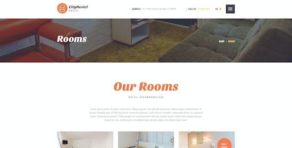 City Hostel   A Travel & Hotel Booking WordPress Theme