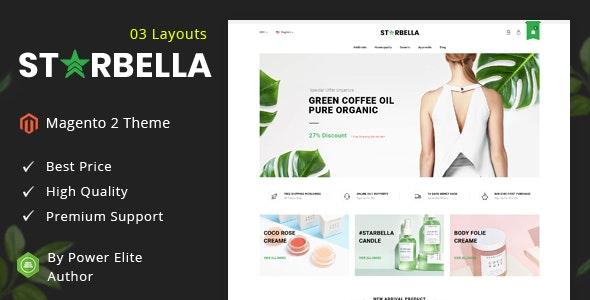 StarBella - Responsive Magento 2 Theme - Health & Beauty Magento