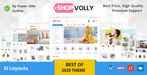 ShopVolly - Multipurpose WooCommerce Theme - WooCommerce eCommerce