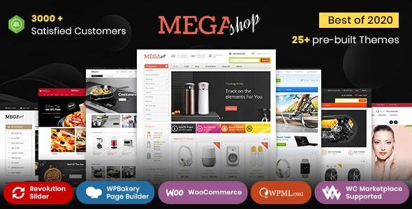 Mega Shop - WooCommerce Responsive Theme - WooCommerce eCommerce