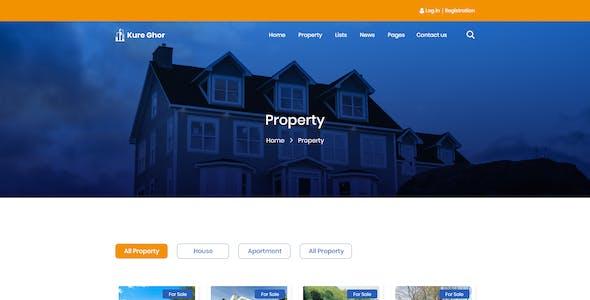 Kure Ghor - Real Estate Template