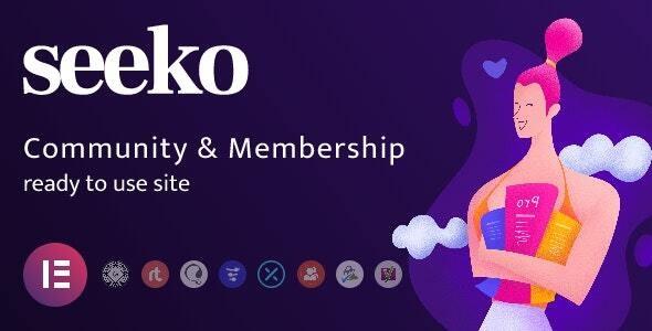 Seeko - Community Site Builder with BuddyPress SuperPowers - BuddyPress WordPress
