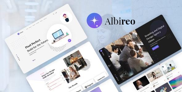 Albireo - Creative One Page PSD Template - Creative Photoshop