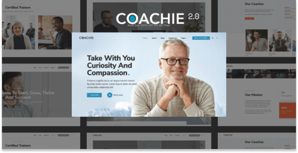 Coachie 2.0 - WordPress Theme For Coaching Business - Health & Beauty Retail