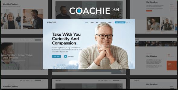 Coachie 2.0 - WordPress Theme For Coaching Business