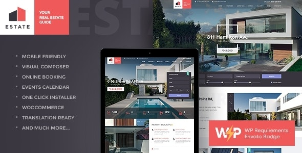 Estate Property Sales Rental Wordpress Theme Rtl By Axiomthemes