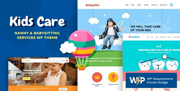Kids Care | A Multi-Purpose Children WordPress Theme