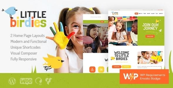 Little Birdies | A Multipurpose Children Kindergarten WordPress Theme - Children Retail