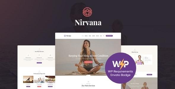Nirvana | Yoga Studio and Fitness Club WordPress Theme - Health & Beauty Retail